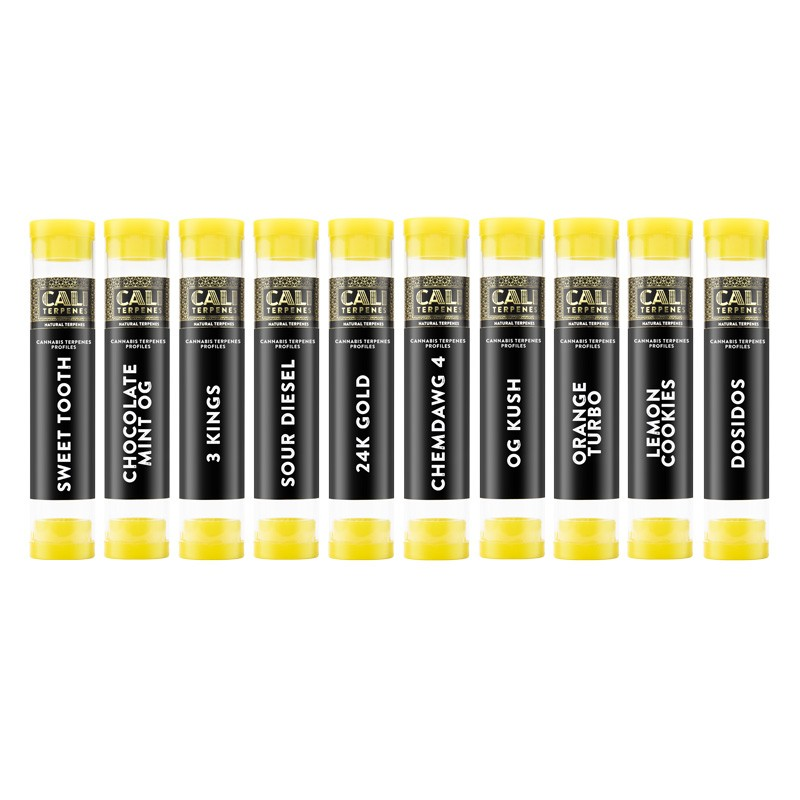 Mega pack of terpenes Limonene - Cali Terpenes
