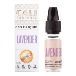 E-liquid CBD Lavender - 30mg - Cali Terpenes