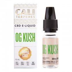 E-liquid CBD OG Kush - 30mg - Cali Terpenes