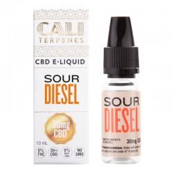 E-liquid CBD Sour Diesel - 30mg - Cali Terpenes