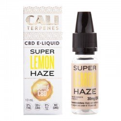 E-liquid CBD Super Lemon Haze - 30mg - Cali Terpenes