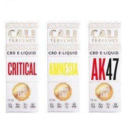 Pack CBD e-liquid Top EU 1 - 30mg - Cali Terpenes