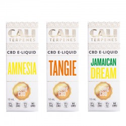 Pack e-liquid CBD Sativa 1 - 30mg - Cali Terpenes