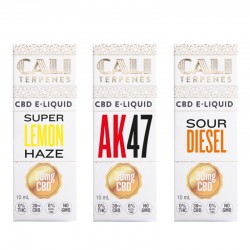 Pack e-liquid CBD Sativa 2 - 30mg - Cali Terpenes