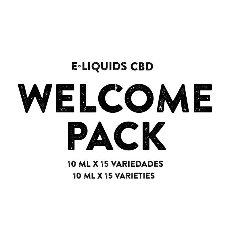 Welcome pack CBD e-liquid - Cali Terpenes