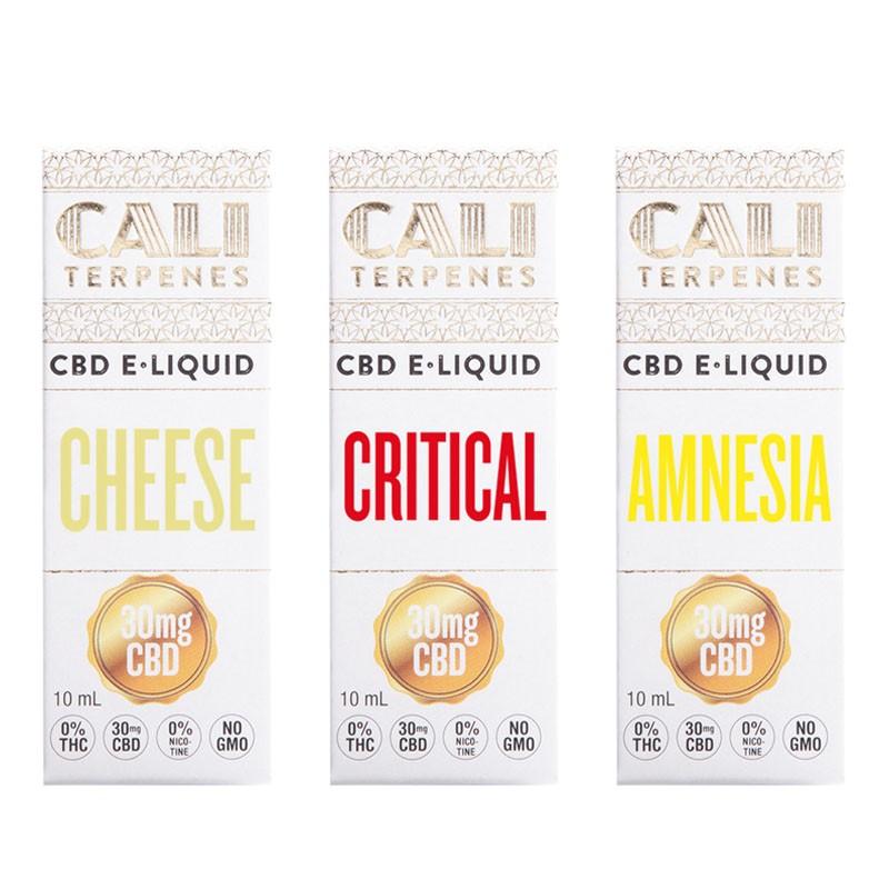 Pack CBD e-liquid Top EU 2 30mg - Cali Terpenes
