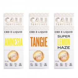 Pack CBD e-liquid Energy 30mg - Cali Terpenes
