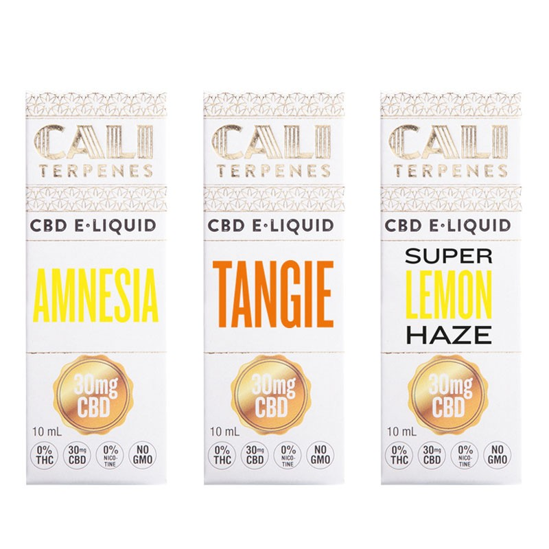 Pack CBD e-liquid Energy 30mg - Cali Terpenes