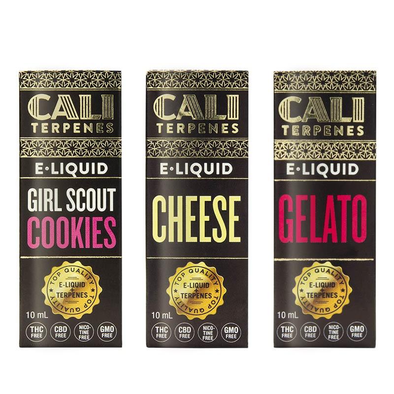 Pack e-liquid con terpenos Calm - Cali Terpenes