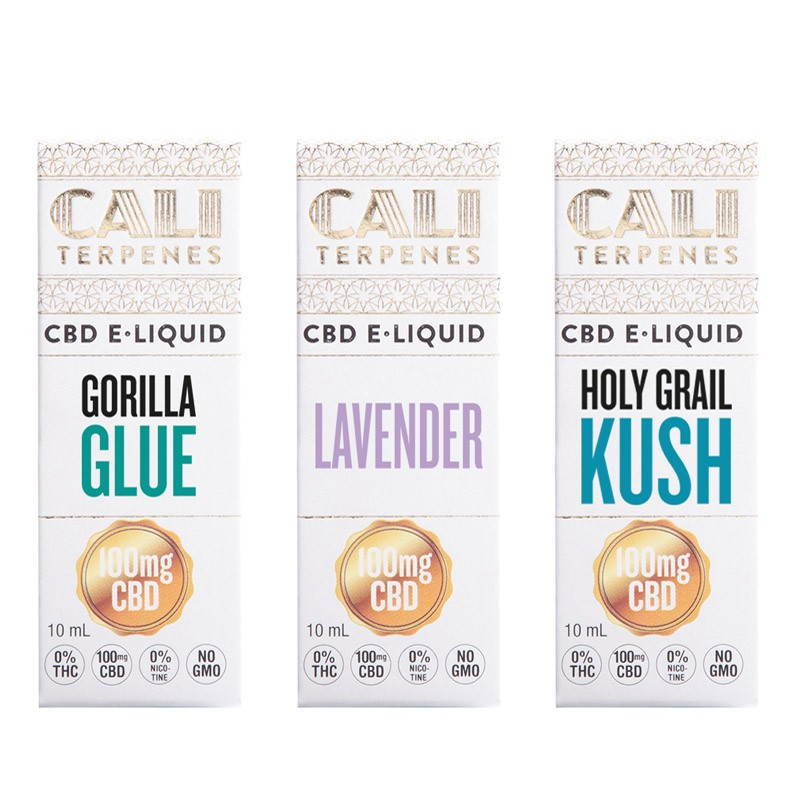 Pack e-liquid CBD Relax 100mg - Cali Terpenes
