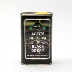 Olive oil with Black Dream terpenes