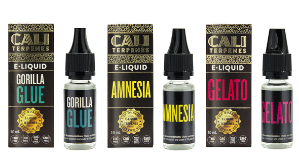 Eliquids with terpenes